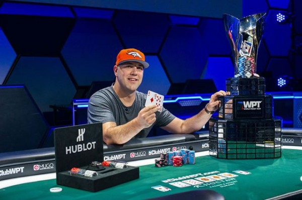 Craig Varnell Won WPT Choctaw Main Event Title